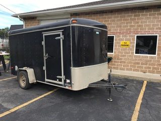12' United Enclosed Cargo Trailer