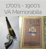 Civil War Era Letters, VA State History Documents and More!
