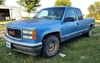 1996 GMC Sierra 1500: 2WD, 158K mi., cracked windsheild and some rust but runs good