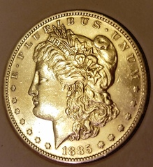 Many Silver Dollars: Great collection of silver, rare paper money and commemerative pieces.