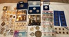 Commemerative and .999 silver pieces etc.: