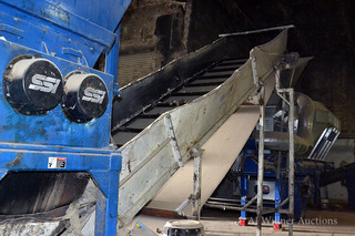 Vecoplan Inclined Drag Conveyor