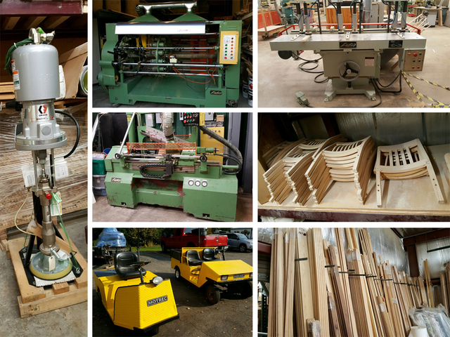 2 2 Excess Woodworking Equipment Parts Supplies Wausau Wi Auctionservices Inc Ignite