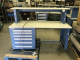 Online Only Industrial Desk and Equipment