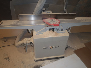 Former Cabinet + Counter Top Wood Shop Equipment AUCTION