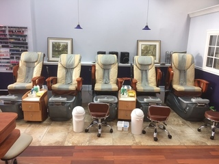 VA NAIL SALON EQUIPMENT AUCTION LOCAL PICKUP ONLY