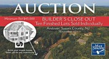 AUCTION | Builder's Close Out - 10 Finished Lots Sold Individually