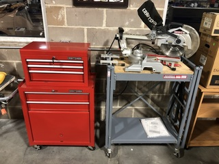 Craftsman Rolling Tool Chest, Craftsman Sliding Compound Miter Saw