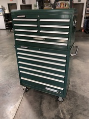 Large Master Force Rolling Tool Chest w/ Ball Bearing Drawers