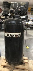 Large Vertical Black Max Air Compressor