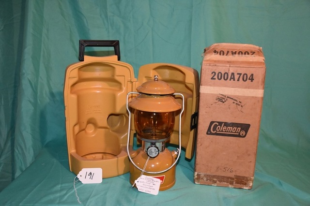 Session III - Coleman Lanterns & Related Items - Stanton's