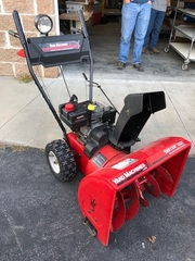 Yard Machines 2 Stage Snow Blower