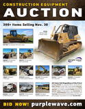 Construction Equipment Auction