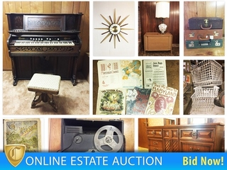 Estate Auction Life Long Musician   Northmor Ends 12/3/17