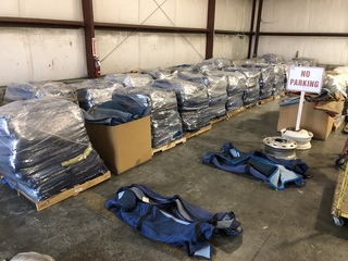 1,000+ Moving / Packing Blankets, Sold in Groups of 50, All Palletized/Shrink Wrapped