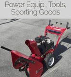 Power Equip., Tools, Sporting Goods