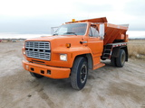 Ford Truck & Henderson Spreader Box Auction