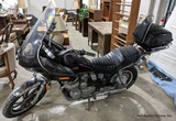 Yamaha XJ550R Motorcycle, 45's & LP's, Longaberger, Die-Cast Cars, Samsung Steam Dryer, Furniture, & More!