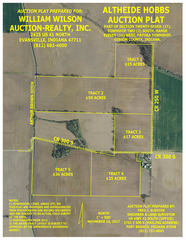 143 +/- ACRES GIBSON COUNTY FARMLAND
