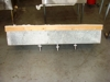 Lot # 3 Stainless steel 3 tub bar sink: