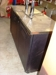 Lot # 8 Stainless steel top True 2 tap beer cooler,: