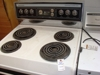 Lot 30 Kenmore conventional clean oven electric range: