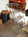 Lot 31 Mobile Ladder: