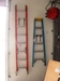 Lot 44 Werner fiberglass ext. ladder 300 lb model D6216-2: