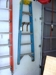 Lot 45 Werner 6 ft fiber glass step ladder:
