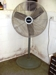 Lot 53 Lasko shop fan on pedestal: