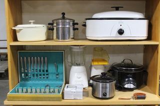 Small Appliances and Silverware Sets