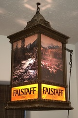 Antique Lighted Falstaff Beer Sign
