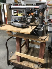 Craftsman Radial Arm Saw, Craftsman Welder, Air Compressor, Table Saw and Other Tools