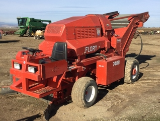 FLORY 7488 self-propelled nut harvester