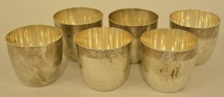 Lot# 3004 - Lot Of Six Sterling Silver C