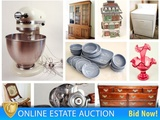 Estate Auction Featuring Well Cared For Furniture & Décor Ending 1/30