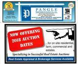 Now Offering 2019 Auction Dates