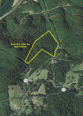 Giles County 44 Acres Aerial