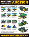 Knight Farms Retirement Auction