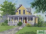 Up-scaled Coastal Cottage, Lot #14, Midway, Georgia