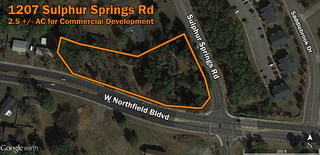 2.5 ac Great Location for Commercial Building