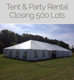 INSPECT TUESDAY Event Rental Company Online Auction Sterling, Va