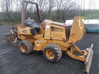 Case 460 Trencher w/Blade
