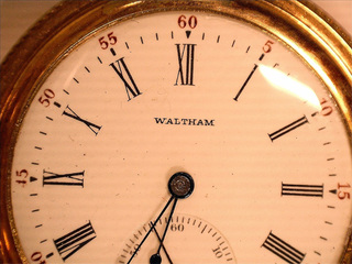 Lot 404 14Kt Waltham Pocket Watch W/Second Face