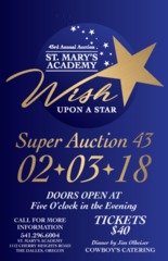 St. Mary's Super Auction: