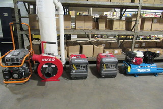 Nikro Insulation Removal Vacuum Machine and Generators