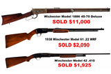 Upcoming Gun & Firearm Auction: Friday Morning, April 13th @ 9:00 A.M.