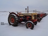 LARGE FORD COLLECTOR VEHICLES & CASE COLLECTOR TRACTORS AUCTION FOR ALBERT & EVIE REMME ESTATE