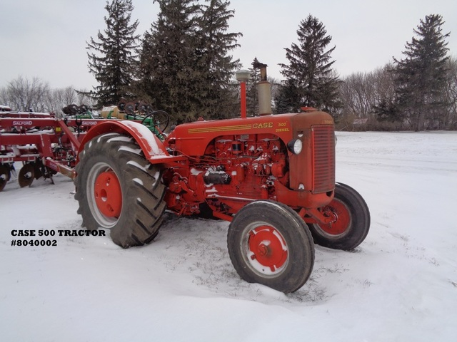 500 case tractor