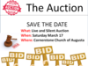 Cornerstone Church Mission Auction